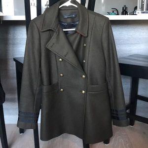 Zara Peacoat
